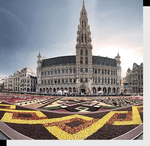 отправить посылку в Бельгию