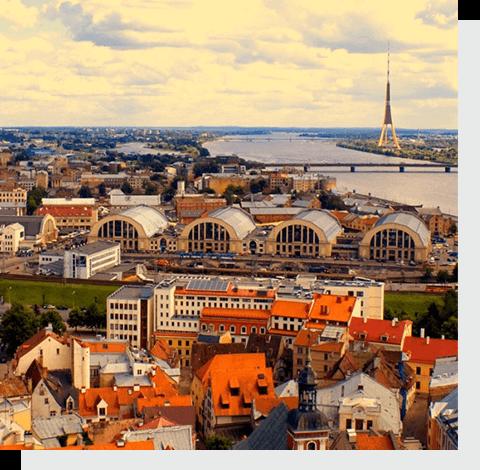 отправить посылку в Латвию