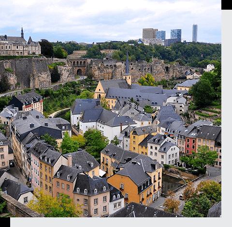 отправить посылку в Люксембург