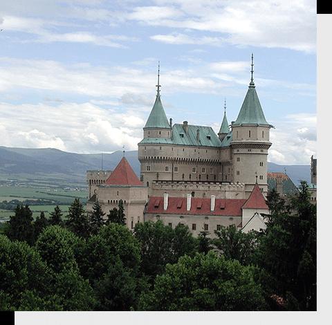 отправить посылку в Словакию